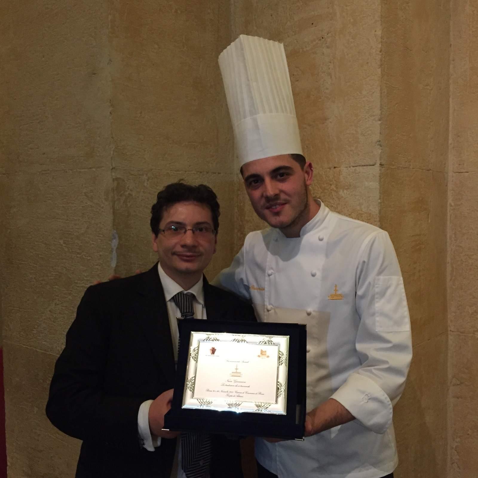 Premiato alla Fiera Nazionale del Panettone e del Pandoro di Roma il giovane pasticcere Mario Fiasconaro