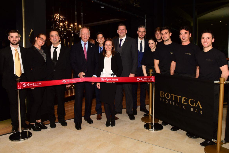 Bottega apre a Birmingham un Prosecco Bar