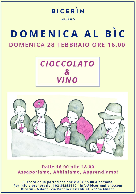 Cioccolato, dessert, arte e sensualità dal BICERÌN