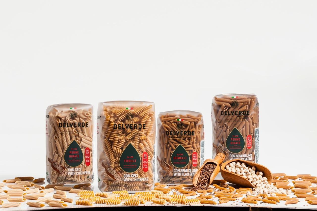 Delverde rivoluziona il mondo della pasta con il lancio di ben cinque nuovi prodotti