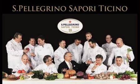 S.Pellegrino Sapori Ticino 2016: dal 1°maggio al 19 giugno 2016 nelle più esclusive location della Svizzera Italiana