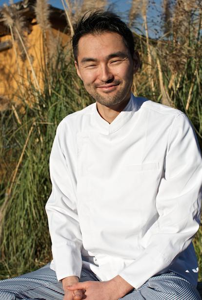 chef giapponese Takeshi Iwai,