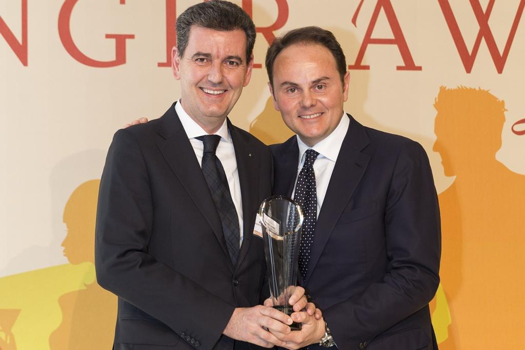 """La Famiglia Lunelli premiata come """"Wine Family of the Year"""" al Meininger Award"""
