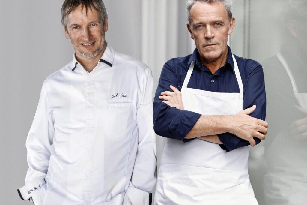 Martedì 8 Marzo un menu a 4 mani, 4 Stelle Michelin, 100% biologico