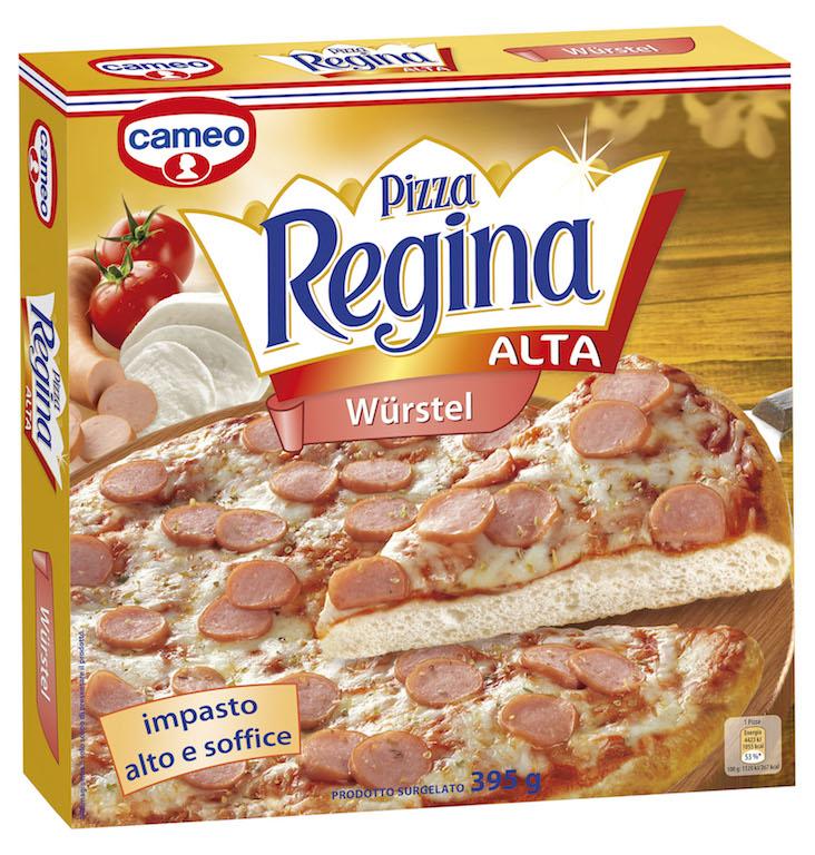 Due nuove ricette al tonno e ai wurstel di cameo Pizza Regina per celebrare il ventesimo anniversario di cameo