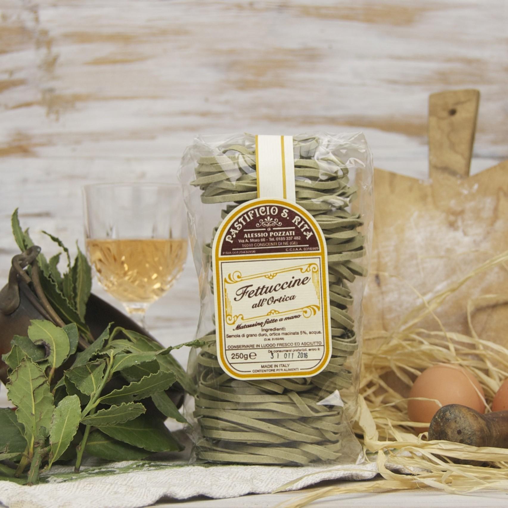 Il Pastificio Artigianale S. Rita, pasta secca della Liguria tra tradizione e innovazione