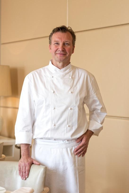 Benoît Witz è il nuovo executive chef dell'Hôtel Hermitage Monte-Carlo