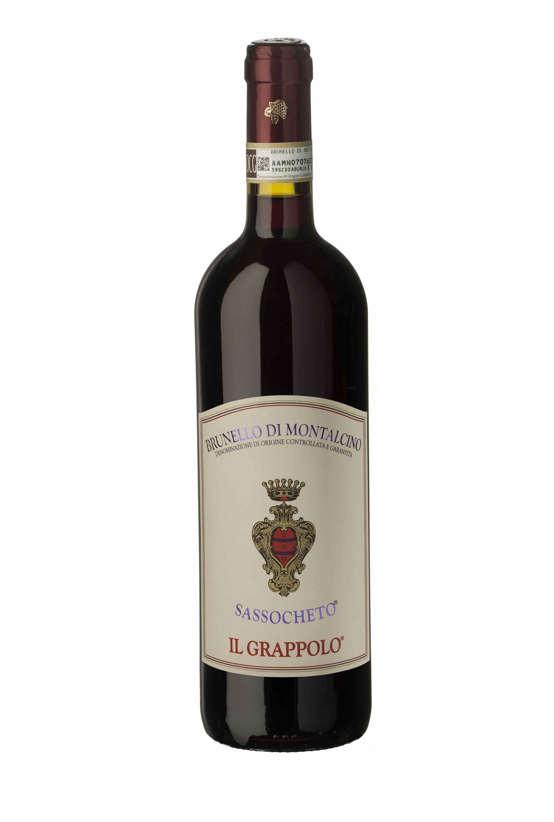 """Il Brunello Sassocheto 2011 Il Grappolo è tra i """"5 Star Wines"""" premiati da Vinitaly"""