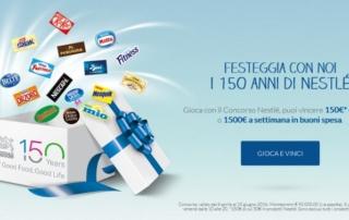 Nestlé celebra 150 anni di gusto e benessere