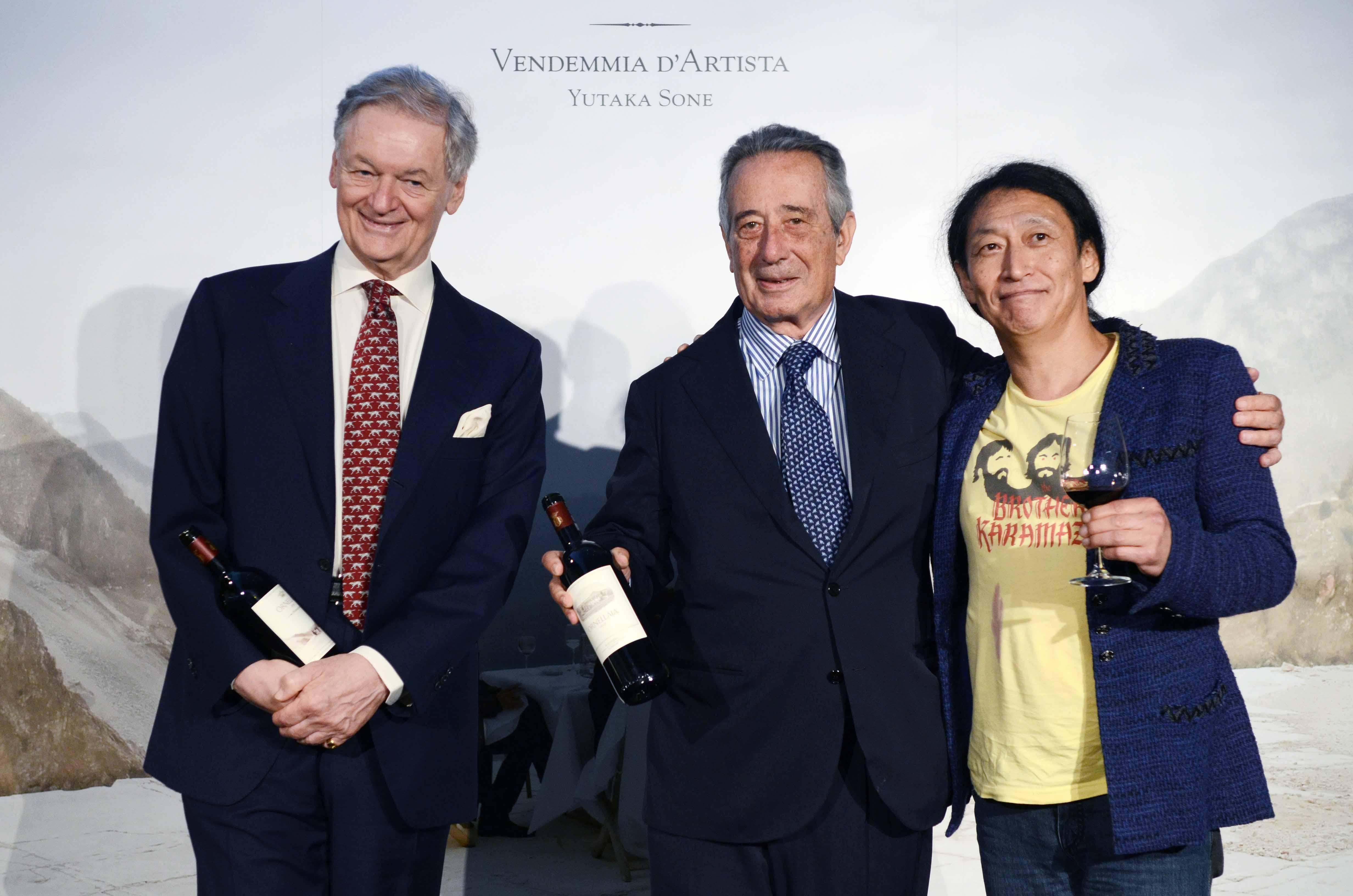 L'ottava edizione del progetto Ornellaia Vendemmia d'Artista arriva a Tokyo