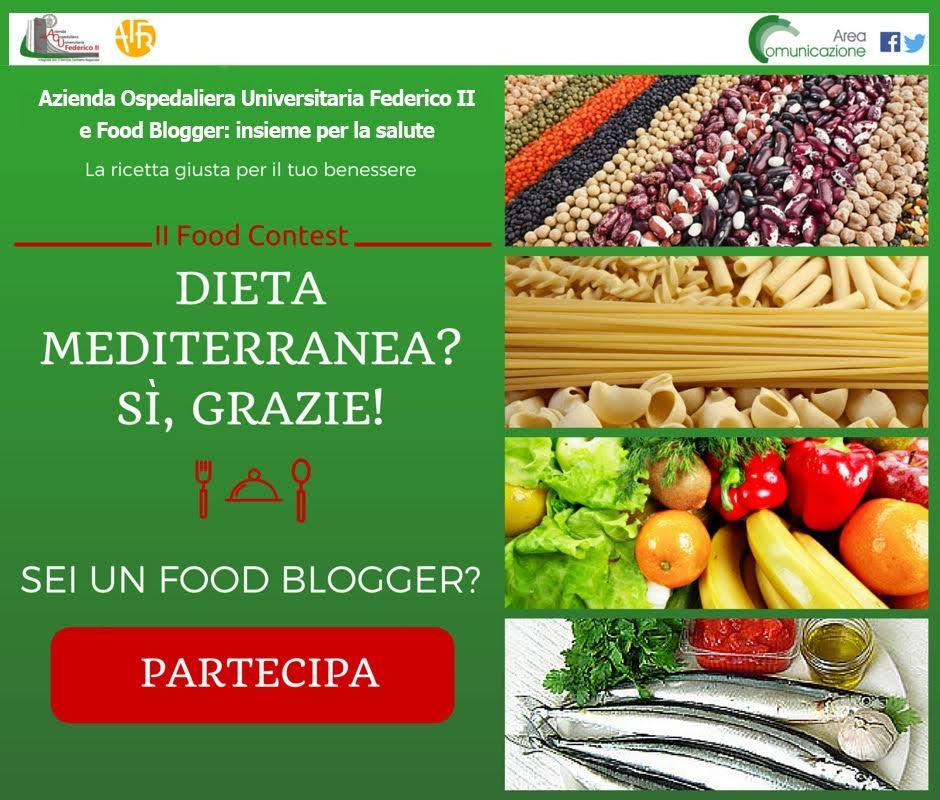 """Al via il food contest """"Dieta Mediterranea? Sì, grazie!"""""""