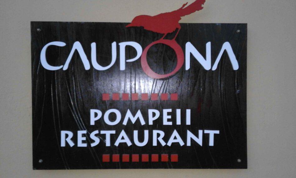 Alea Iacta est ! Ristorante pompeiano Caupona