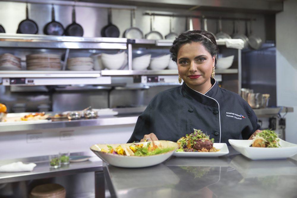 Uno speciale menu a cura della rinomata chef Maneet Chauhan