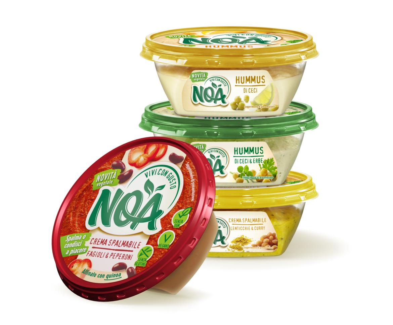 C¹è del nuovo nel banco frigo: NOA, gli spalmabili naturali