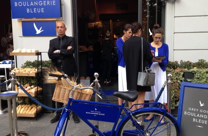 La Boulangerie Bleue di Grey Goose e ... la Francia è arrivata a Milano!