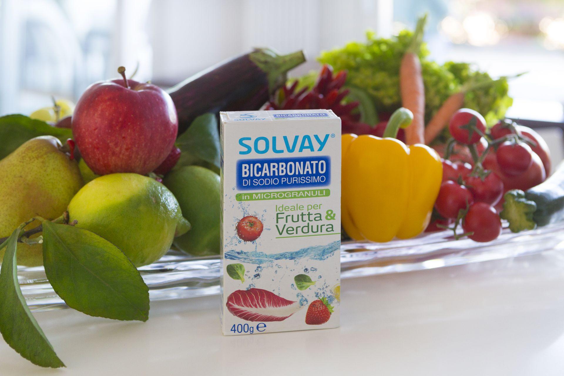 Solvay Frutta & Verdura, il nuovo Bicarbonato in microgranuli