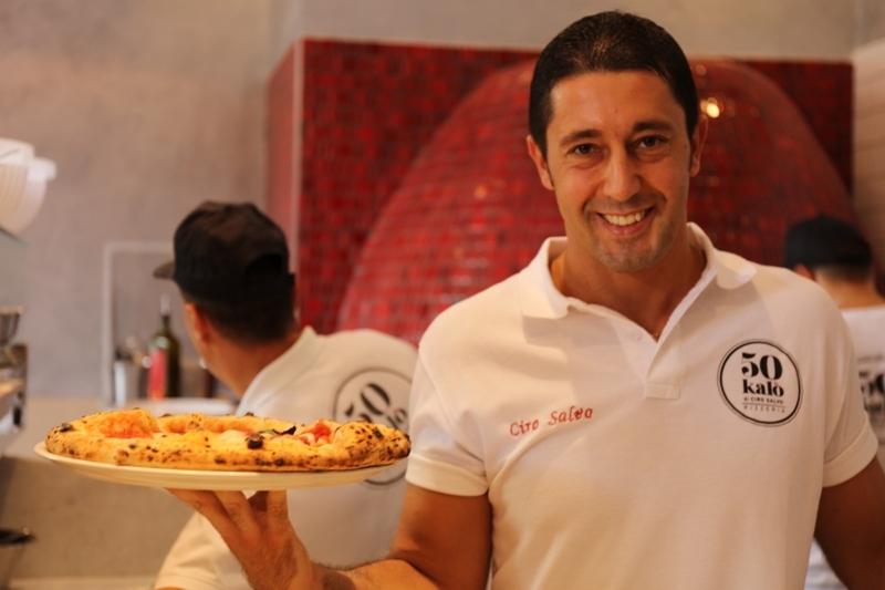 Il pizzaiolo Ciro Salvo protagonista della cena di gala per celebrare il decimo anniversario di Eataly Torino con 10 top chef