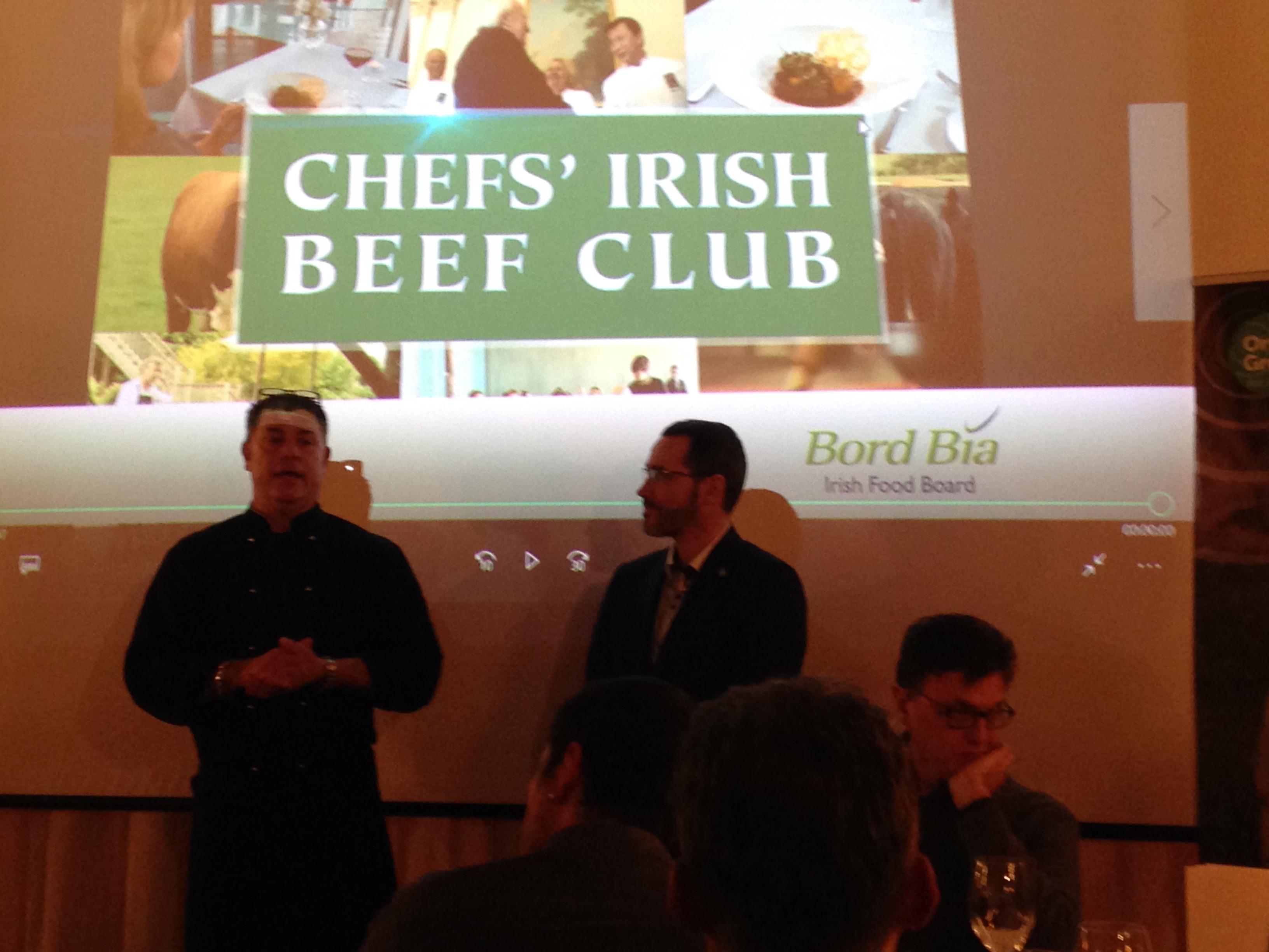 CIBC, il club dei cuochi appassionati del manzo irlandese biologico