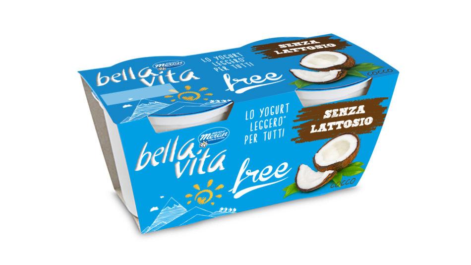 Bellavita Free, lo yogurt senza lattosio o a zero grassi