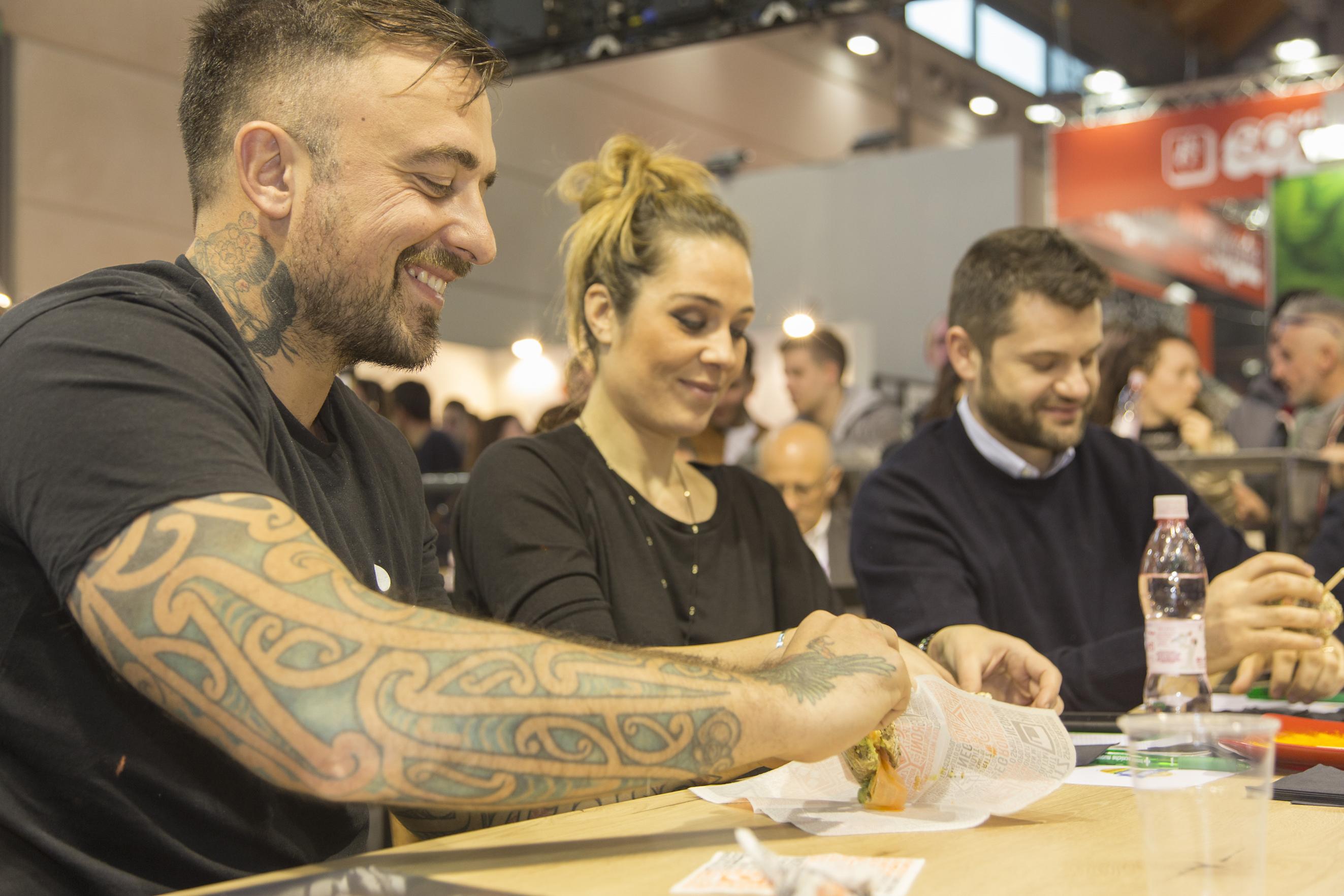 chef rubio Artista del panino 2017