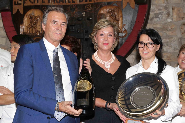 Lara Pasquarelli del ristorante Claudio Bergeggi vince la dodicesima edizione di Sparkling Menu