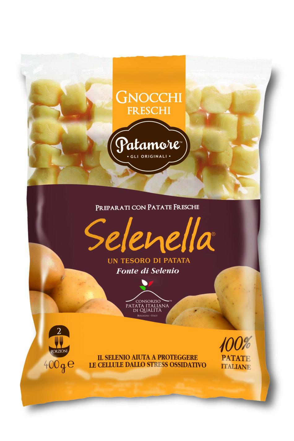 Solo patate negli Gnocchi freschi Selenella, squisiti e genuini!