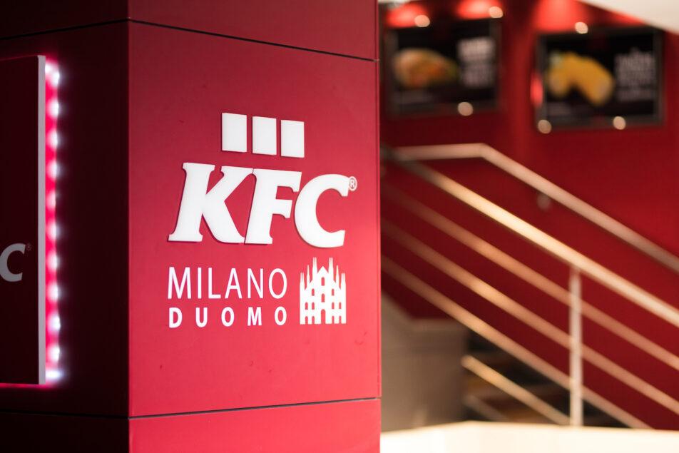 KFC apre un nuovo ristorante in centro a Milano