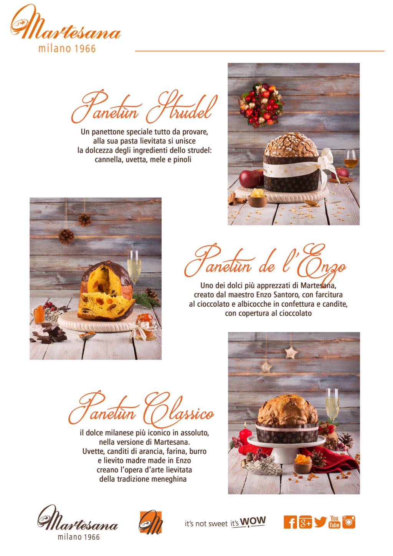 Da Martesana Milano inizia il Natale: Panettoni,Torte e al via la festa per i 50 anni della Pasticceria