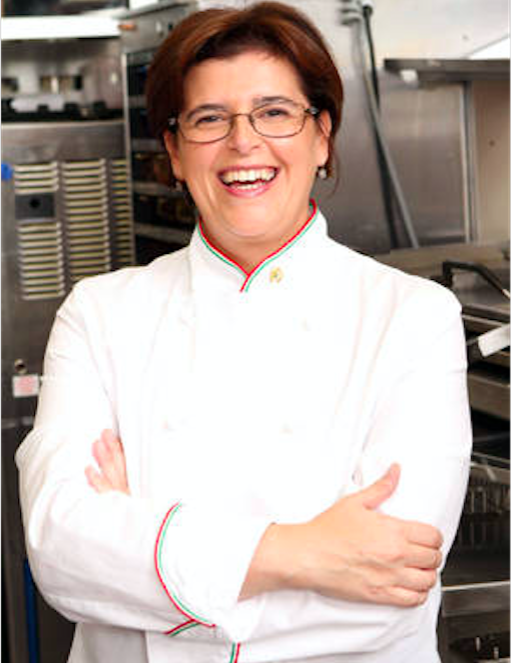 La chef Paola Bogataj creatrice del menu di Bellotosto, dove il toast diventa goloso!