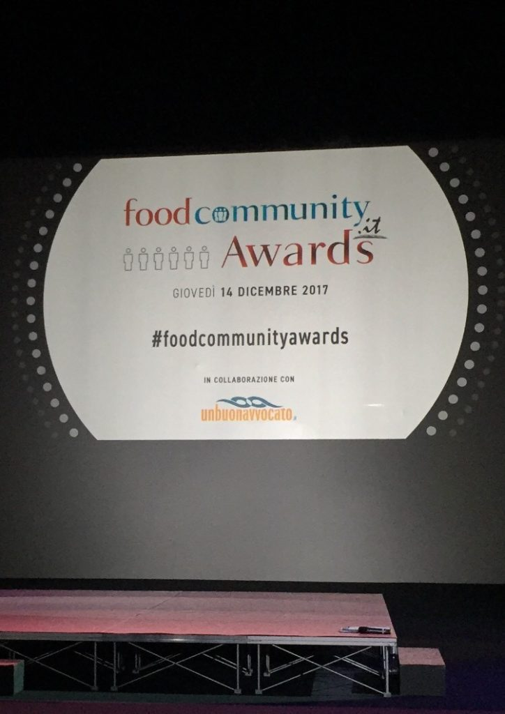 """I """"foodcommunity Awards"""" premiano i protagonisti del settore enogastronomico"""