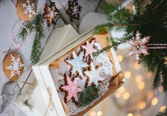 Da Decorì, biscotti natalizi decorati, perfetti per essere personalizzati