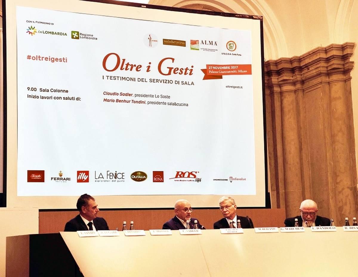 """'Oltre i gesti': A Milano il più importante forum sul mondo della """"Sala"""""""