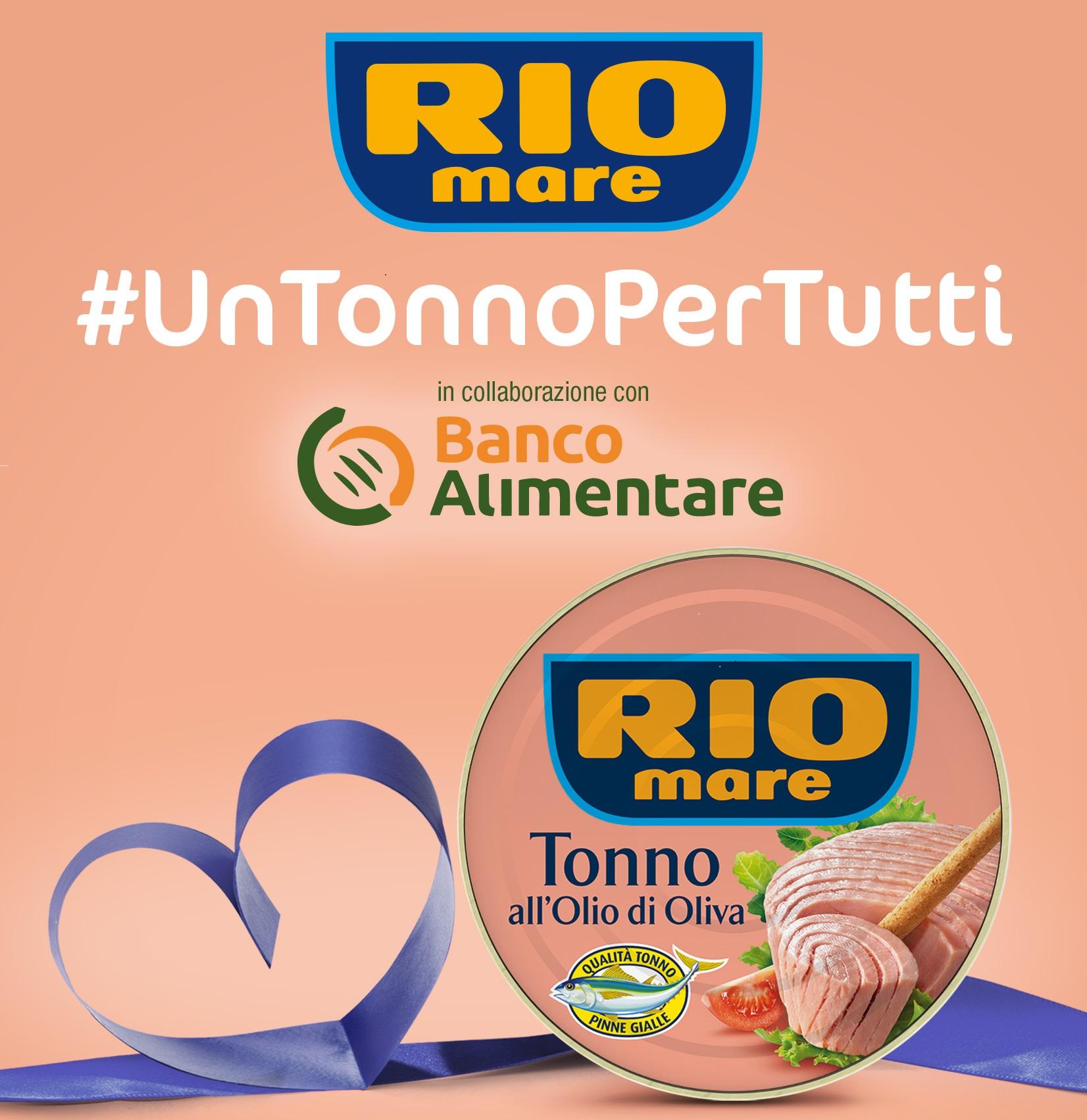 #UnTonnoPerTutti, riparte l'iniziativa solidale di Rio Mare per le famiglie in difficoltà