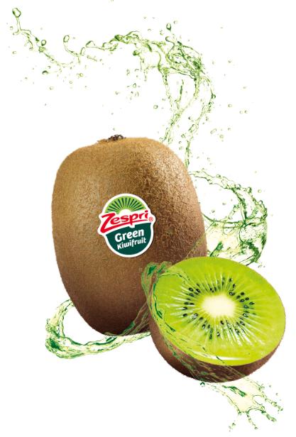 Il kiwi Green Zespri protagonista a tavola per la cena più romantica dell'anno