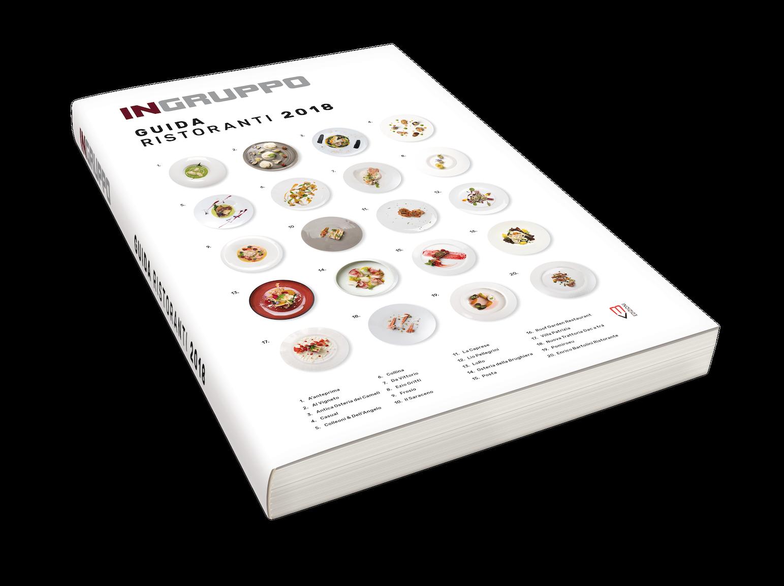 Dal 26 febbraio 2018 disponibile la prima edizione della Guida Ristoranti 2018 InGruppo