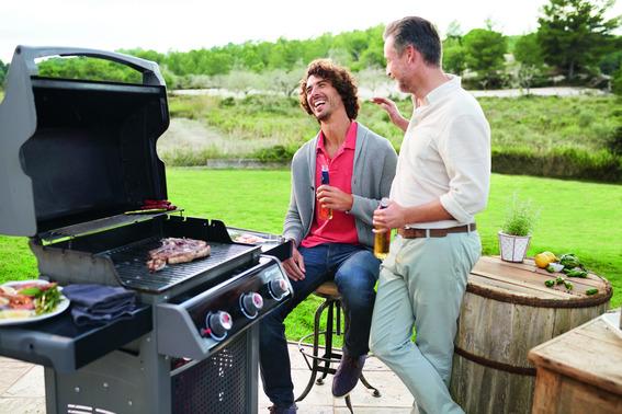 Per la festa del papà un barbecue allego ed elegante