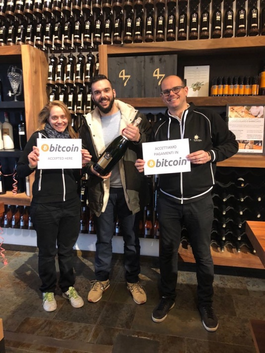 A Treviso la prima Cantina dove si paga in Bitcoin