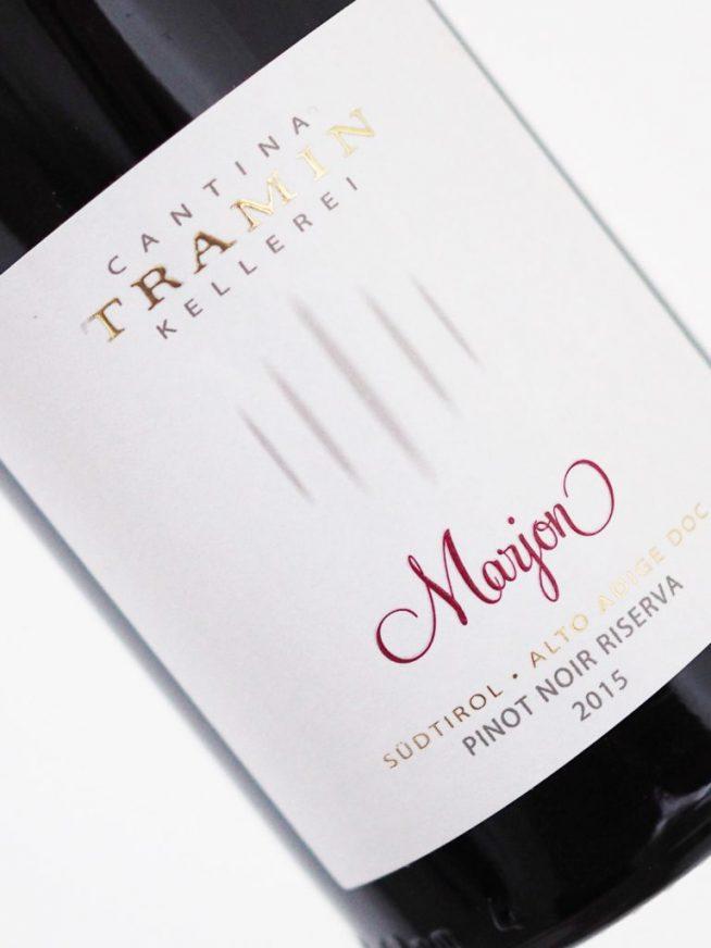 Debutta Marjon, il Pinot Nero di alta quota