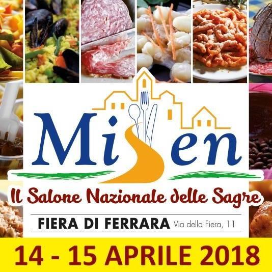 Oltre cento eventi in uno al Salone Nazionale delle Sagre di Ferrara - 14/15 aprile