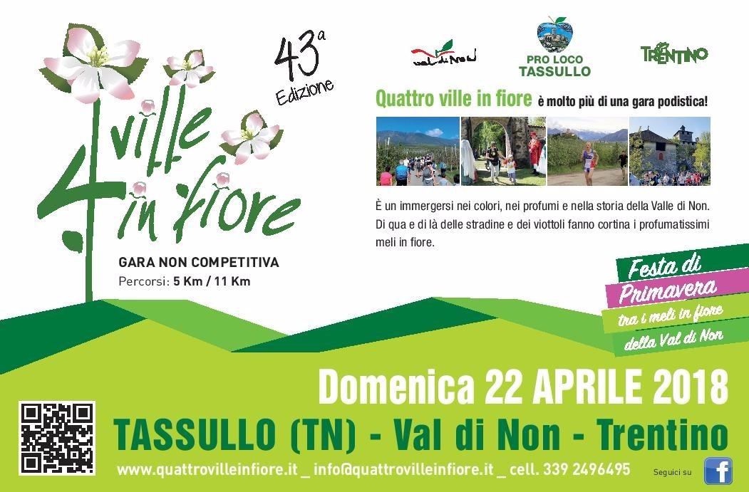 """""""Quattro ville in fiore"""" a Tassullo: così la primavera ha inizio in Val di Non"""