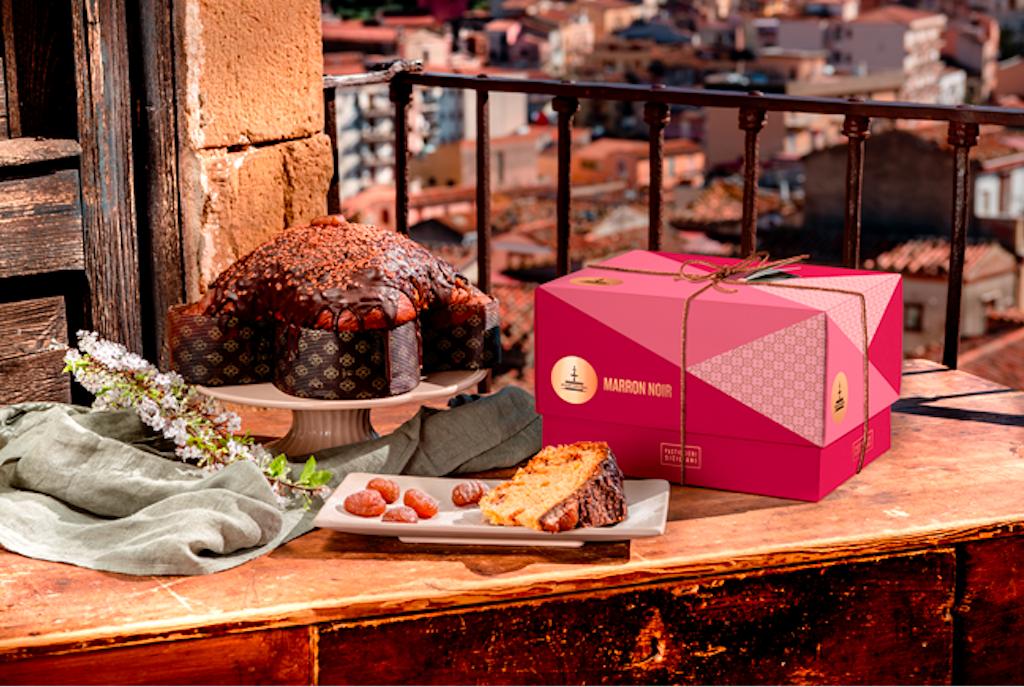 Colomba Marron Noir di Fiasconaro, mix di tradizione dolciaria siciliana e piemontese