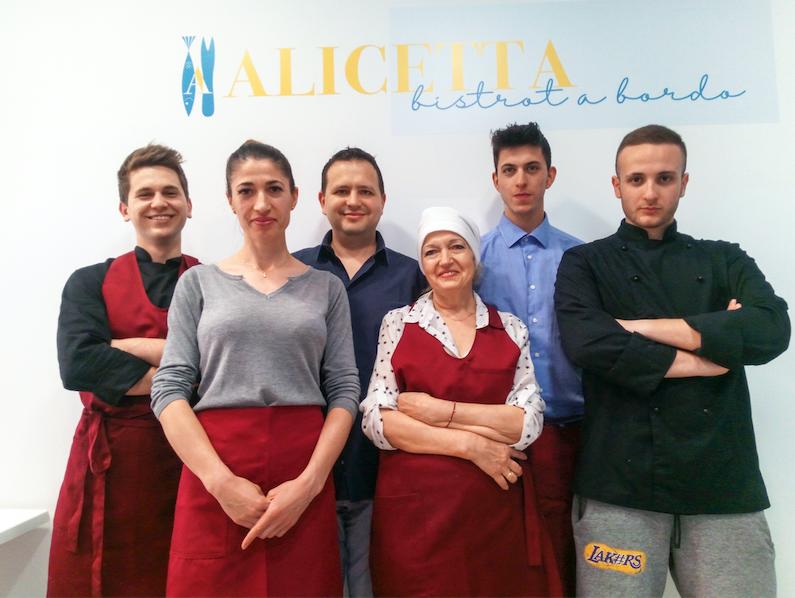 Il sapore del mare a Milano - Alici in tutte le salse da Alicetta