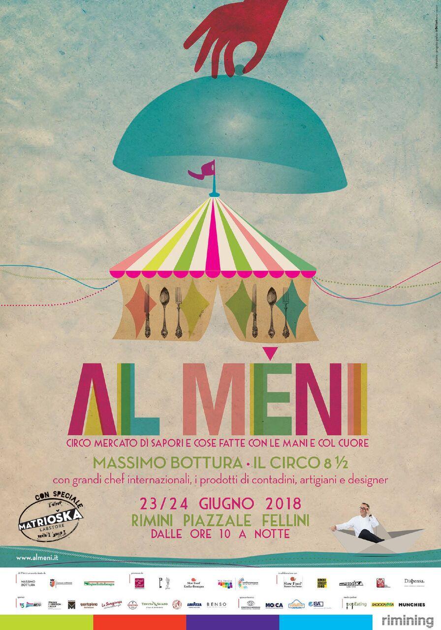 'Al Méni',la festa di Rimini organizzata dallo chef Massimo Bottura