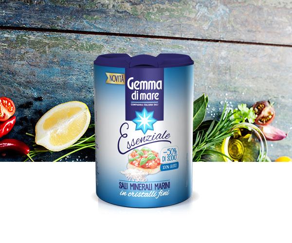 Con il sale iposodico Gemma di Mare la salute … vien mangiando!