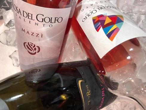 Il tris di rosati di Rosa del Golfo e Trippa Milano