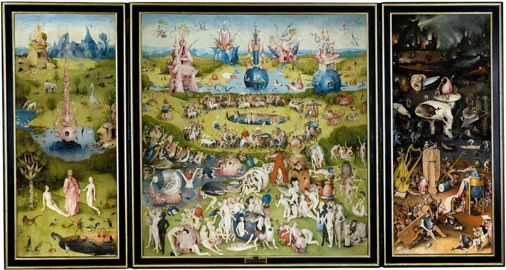 """Helmuth Köcher insegna a capire il vino di qualità ammirando """"Il Giardino delle Delizie"""" di Bosch."""