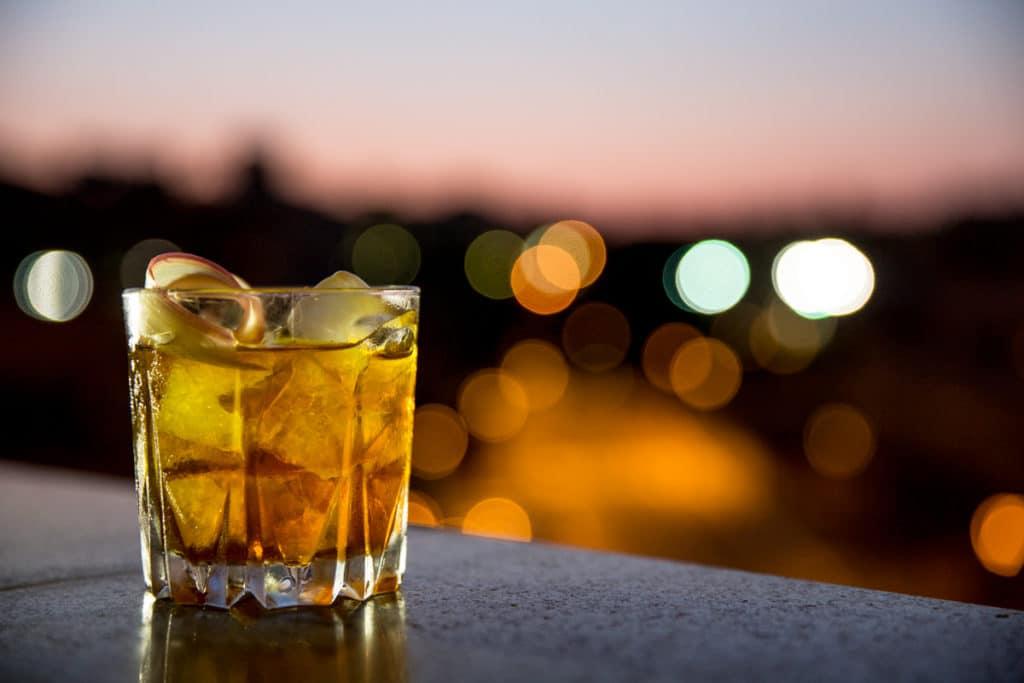 La nuova drink list dello sky stars bar panoramico