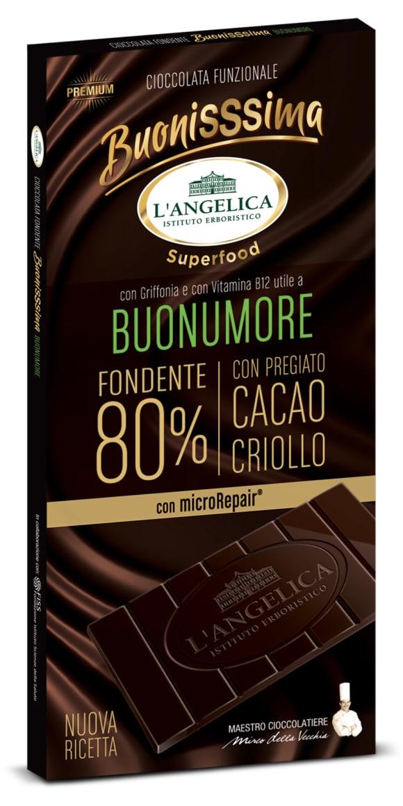 """L'Angelica presenta la nuova linea di cioccolata """"BUONISSSIMA"""""""
