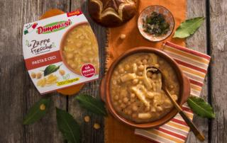 DimmidiSì Pasta e Ceci e DimmidiSì Minestrone di verdure con soia edamame, due squisite novità già pronte!