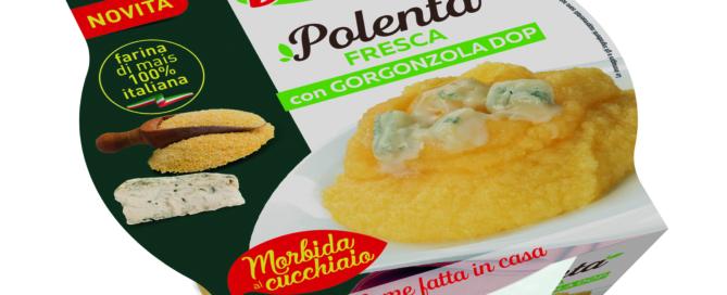 Da DimmidiSì Polenta Classica e Polenta con Gorzongola, fresche, morbide e appetitose!